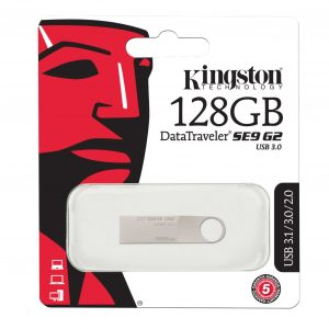 Flash Kingston 128 GB